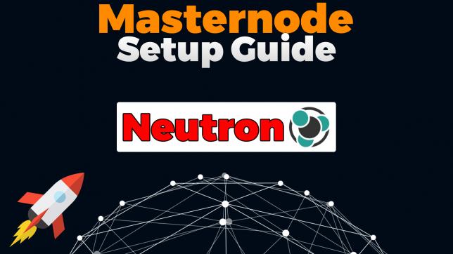 neutron masternode setup