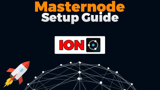 ion masternode setup