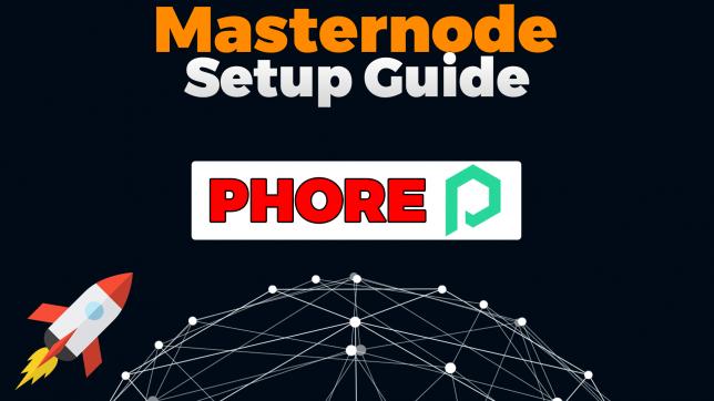 phore masternode setup