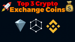 top 3 crypto exchange coins